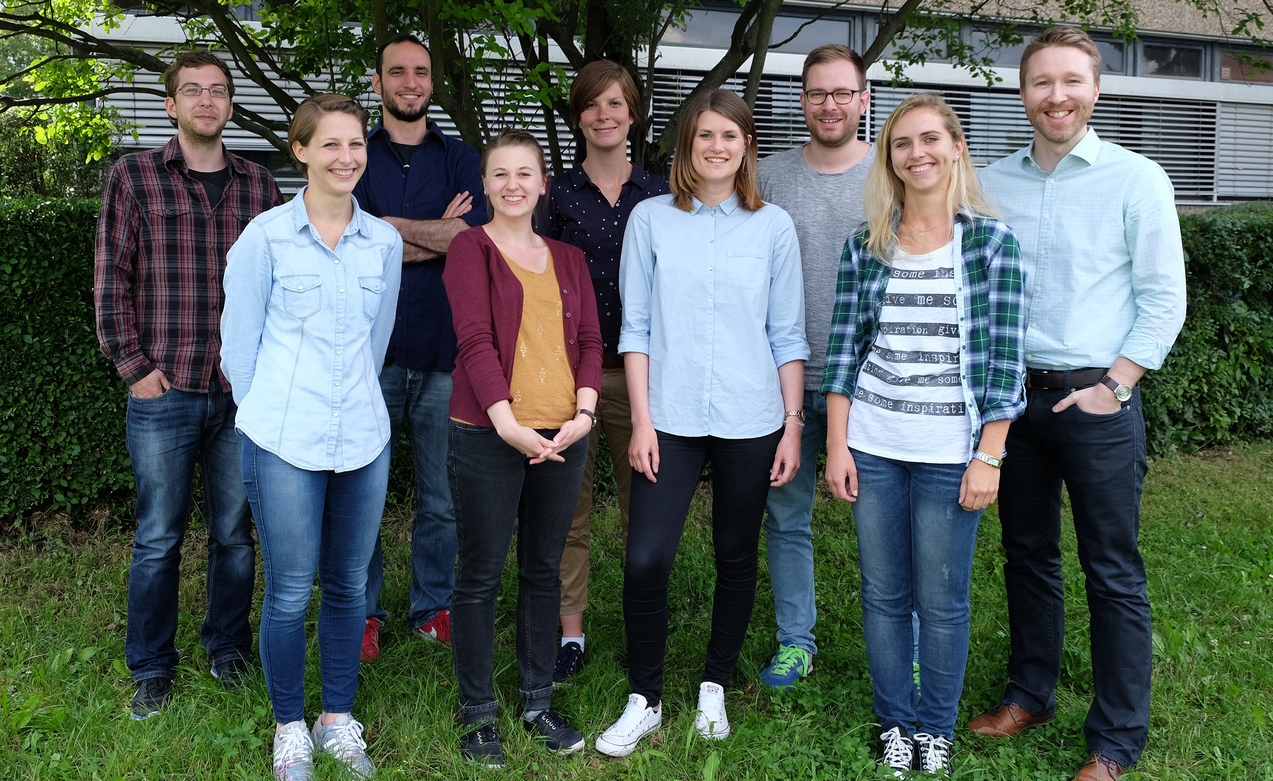 Wichlab Mainz Group photo gruppenphoto 2016 Biopolymers