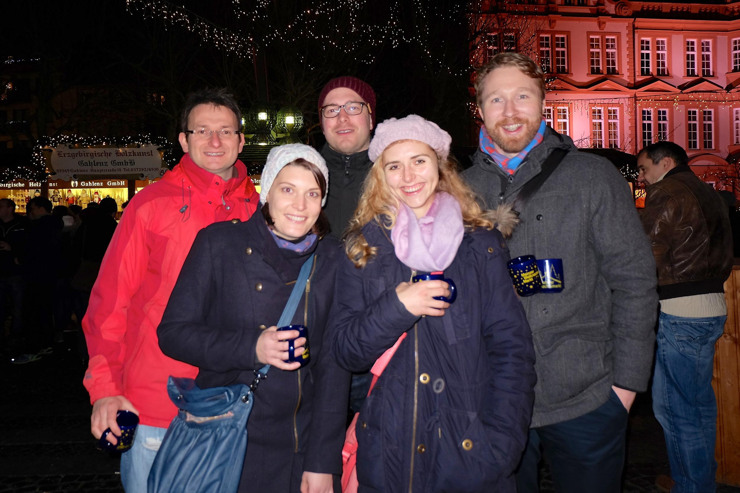 Weihnachtsfeier Wichlab Mainz 2013