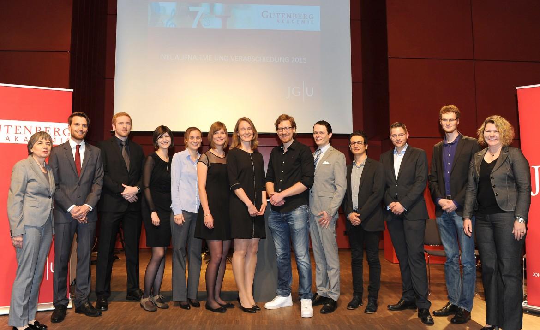 Ira Schmid gutenberg-akademie aufnahme juniormitglieder 2015