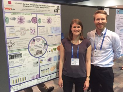 Lydia and Peter at ACS Conference in San Francisco