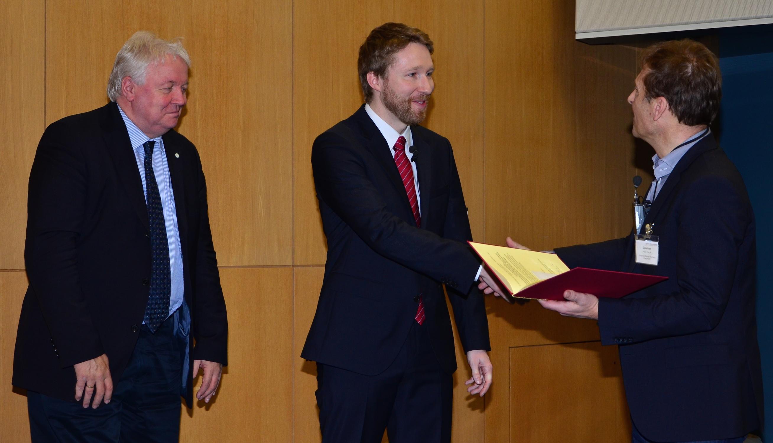 Innovationspreis GDCh DPhG - Peter Wich