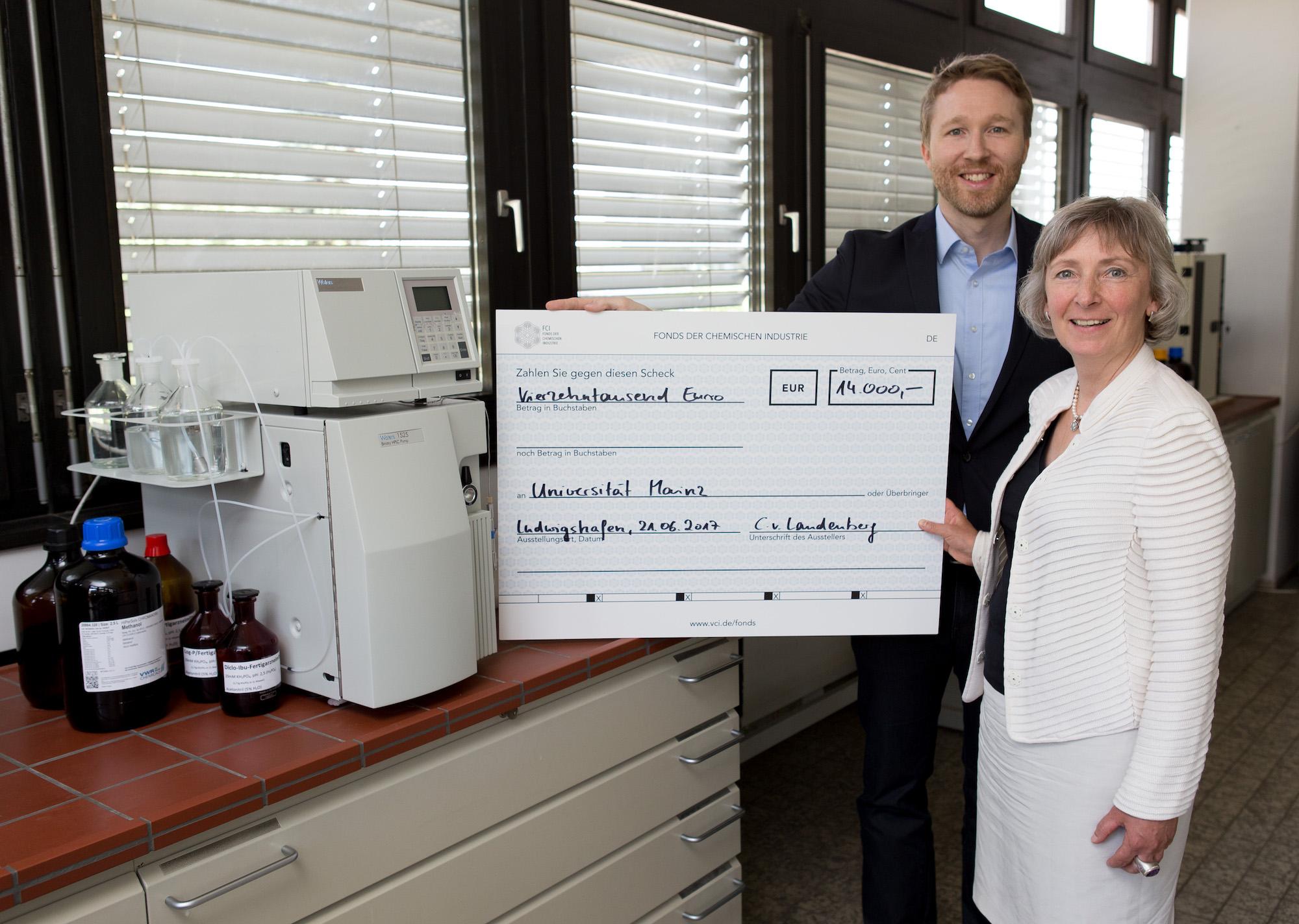 VCI Uni Mainz BMC Peter Wich Fond der Chemischen Industrie Förderung der Lehre