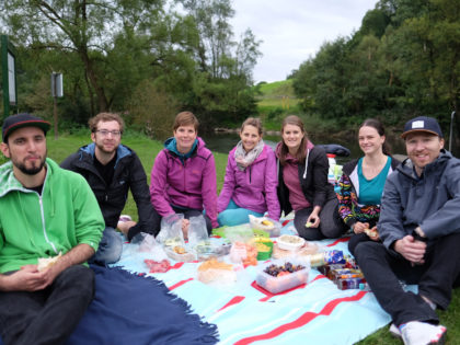 Summer Group Retreat 2017 – Canoeing on the river Lahn