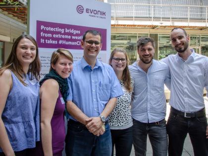 Benjamin is part of team that wins the Evonik Young Scientist Award
