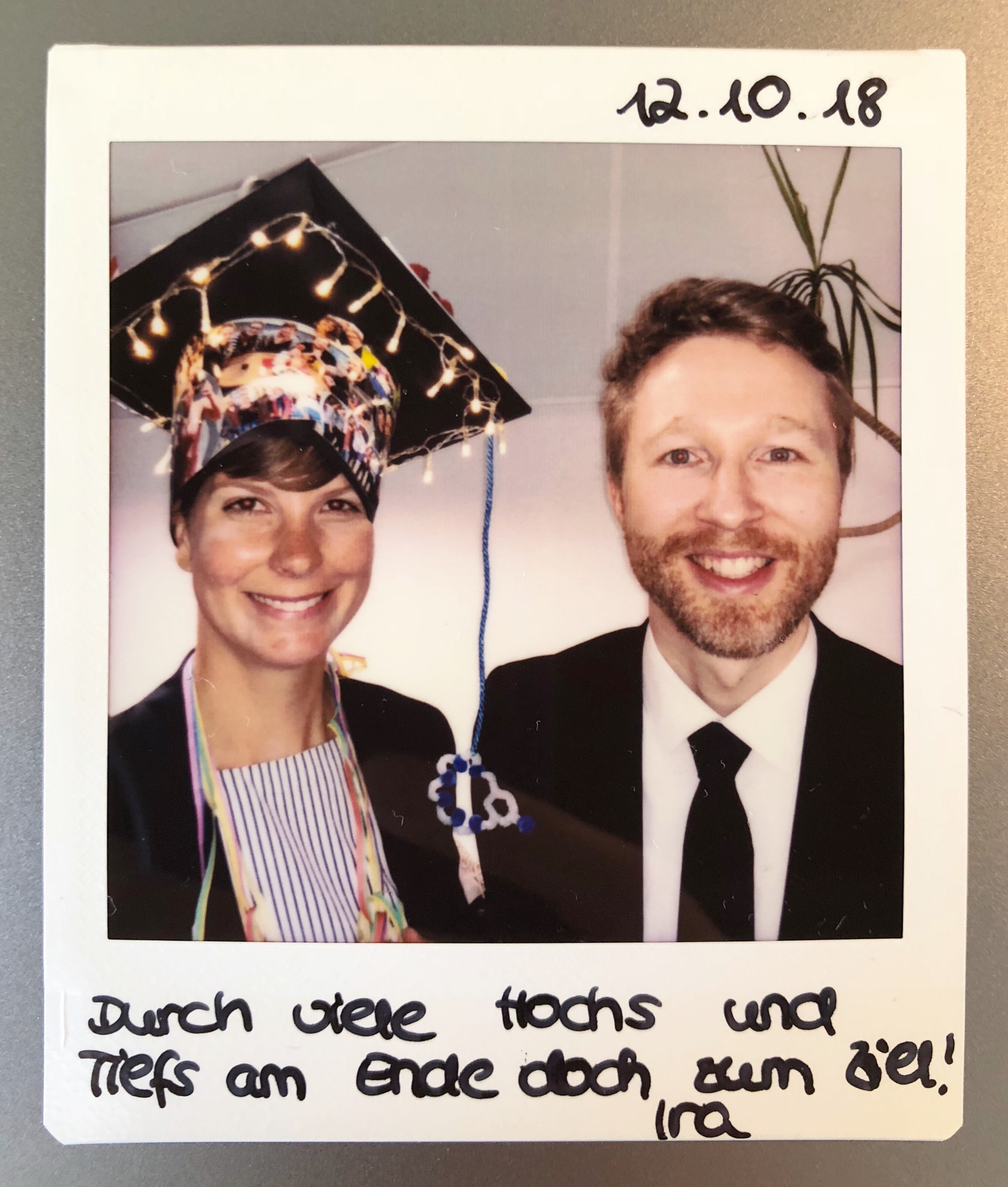 Ira PhD Graduation Wichlab