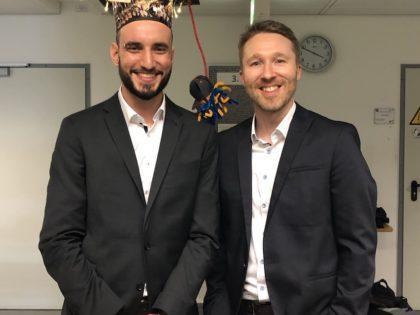 Congratulations to Benjamin on successfully defending his PhD!