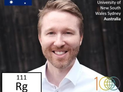 Peter was awarded a spot in the IUPAC Periodic Table of Younger Chemists