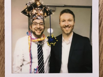 Congratulations to Matthias on successfully defending his PhD!