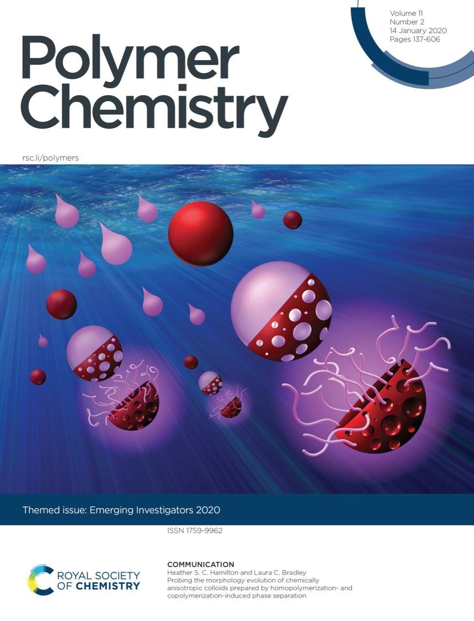 Peter Emerging Investigator Polymer Chemistry 2020