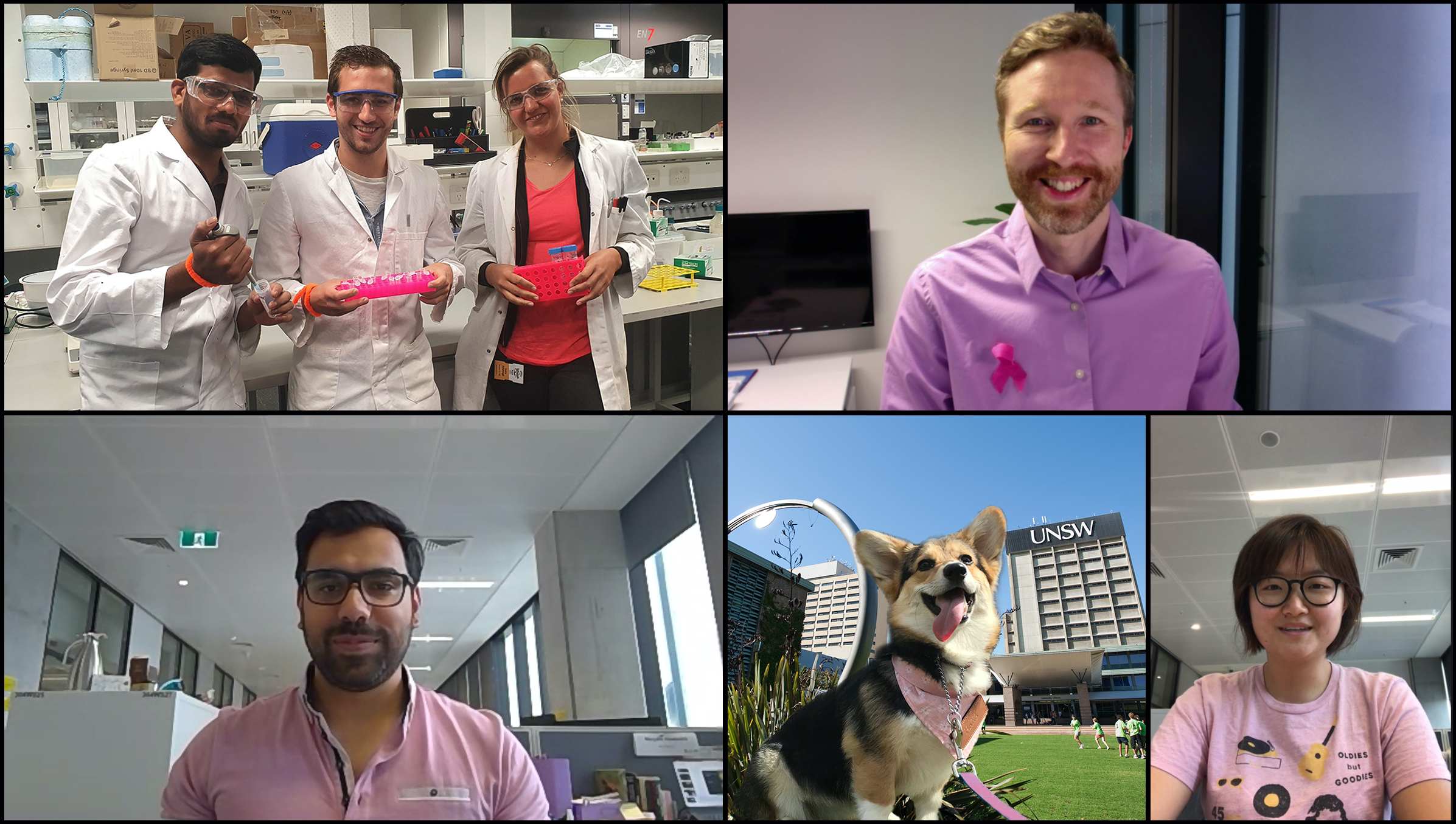 The Wichlab wraps up the #BreastCancerAwarenessMonth with a group picture - The yearly campaign might be over, but sharing the awareness and the importance of early screening has to continue! #BreastCancer #Pink #Pinktober #Wichlab @UNSW @UNSWEngineering @UNSWChemEng
