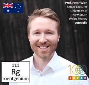 Peter Wich IUPAC Periodic Table Award